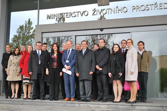 Česko-německá komise pro životní prostředí na MŽP jednala o přeshraničních projektech i klimatu