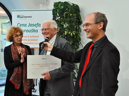 Cenu Josefa Vavrouška získal zakladatel Krkonošského národního parku