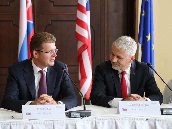 Slovenské předsednictví V4 končí, posledního setkání ministrů ŽP se účastnily i USA