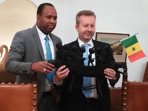 Ministr Brabec se setkal se senegalským ministrem životního prostředí Abdoulayem Baldém