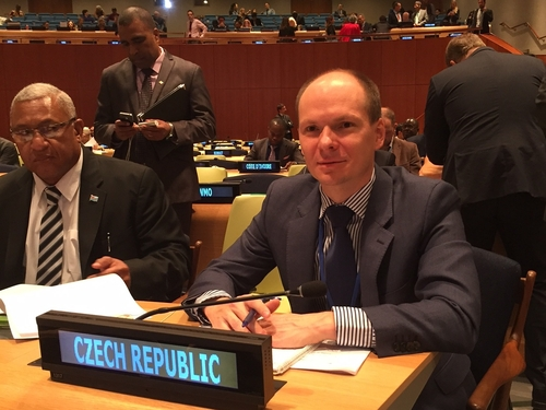 Náměstek Vladislav Smrž se zúčastnil Summitu OSN k přijetí cílů udržitelného rozvoje