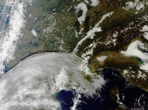 Nové barevné snímky ze Sentinelu 3A z programu Copernicus