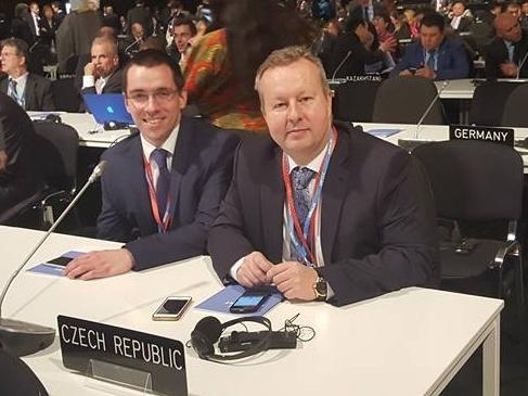 Ministr Richard Brabec se účastní klimatického summitu v Marakéši