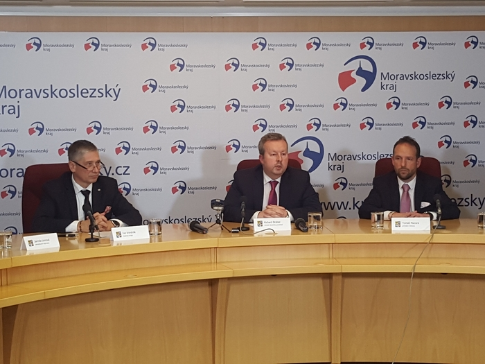 Ministr životního prostředí Richard Brabec diskutoval s vedením kraje a města Ostravy
