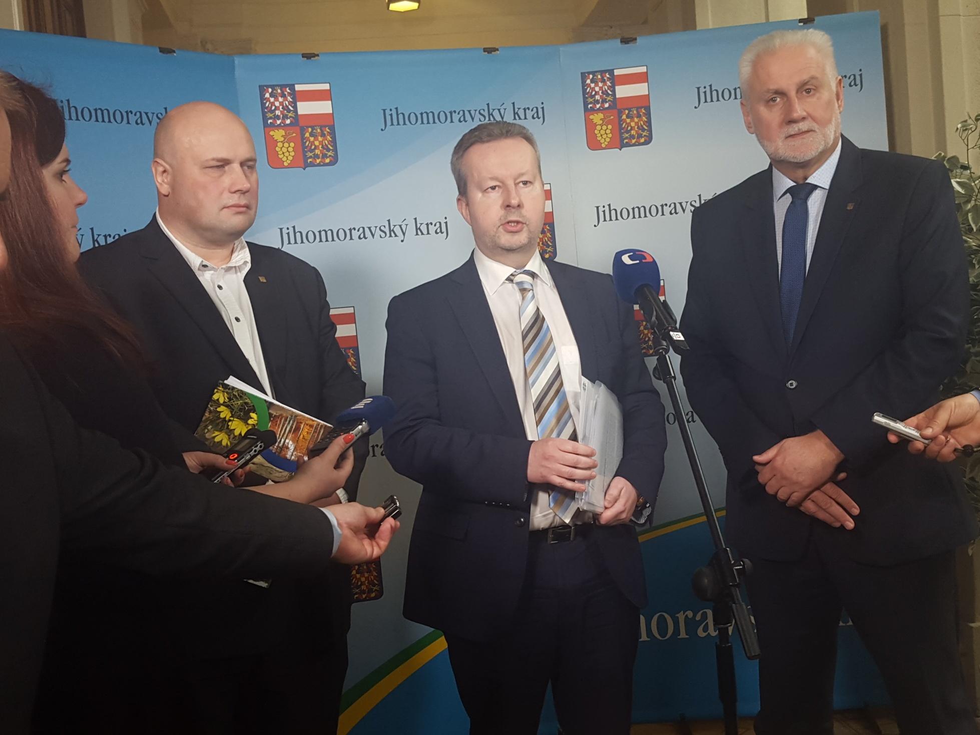 Kotlíkové dotace a boj proti suchu – hlavní priority ministra Brabce pro spolupráci s Jihomoravským krajem