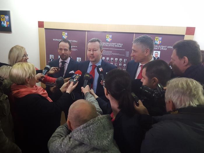 Ministr Brabec v Ostravě: Dalších 100 milionů pro obce a kraje na likvidaci akutních ekologických zátěží, Vratimov má šanci na celkovou sanaci uskladněných kalů