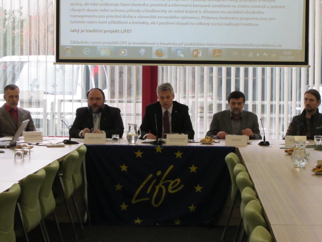 Ministerstvo životního prostředí podpoří žadatele z programu LIFE padesáti třemi miliony korun