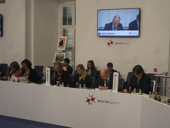 Ministři životního prostředí EU na Maltě diskutovali o adaptaci na změnu klimatu, znečištění oceánů a oběhovém hospodářství