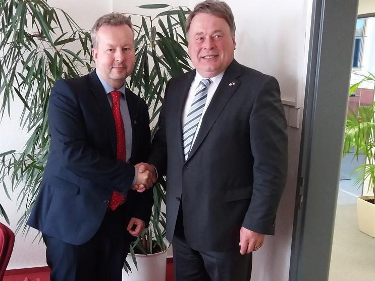 Ministr Brabec se sešel s bavorskou státní ministryní životního prostředí Ulrike Scharf a bavorským ministrem zemědělství Helmuthem Brunnerem