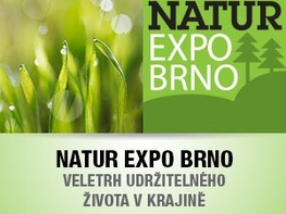 MŽP zve na veletrh NATUR EXPO BRNO 2017. Přijďte 11. - 14. 5. 2017 konzultovat dotační programy MŽP na boj se suchem