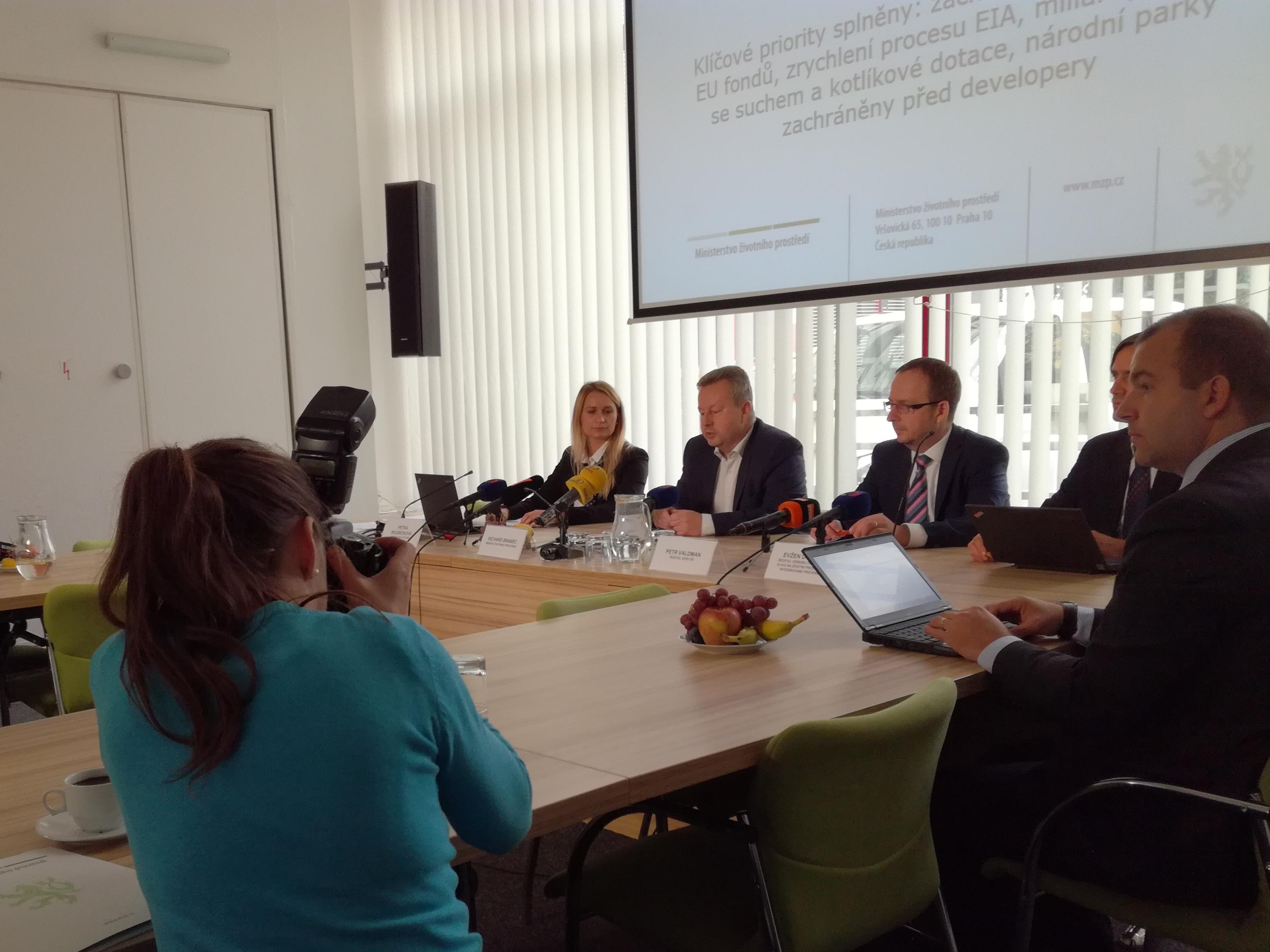 Bilance ministra Brabce: EU fondy, EIA, boj se suchem i kotlíkové dotace