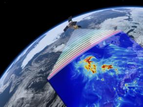 První snímky mapující kvalitu ovzduší z družice Sentinel-5P jsou tu