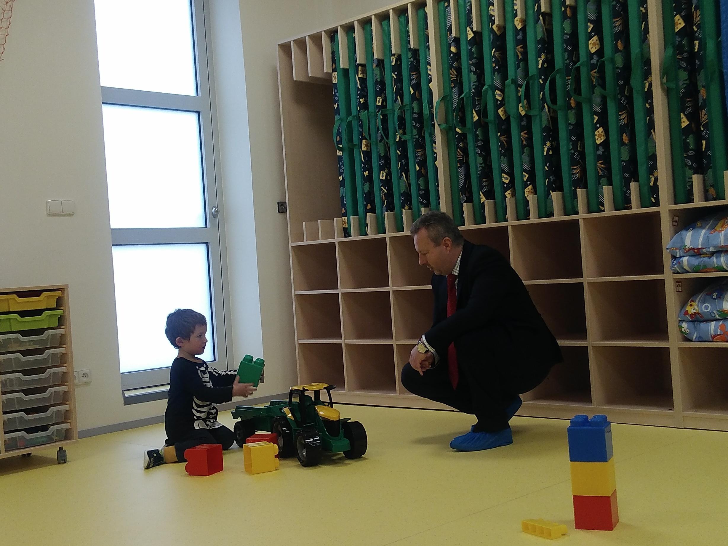 Zaměstnanci MŽP mohou využívat nové předškolní zařízení pro své děti. Ministerstvo má dětskou skupinu