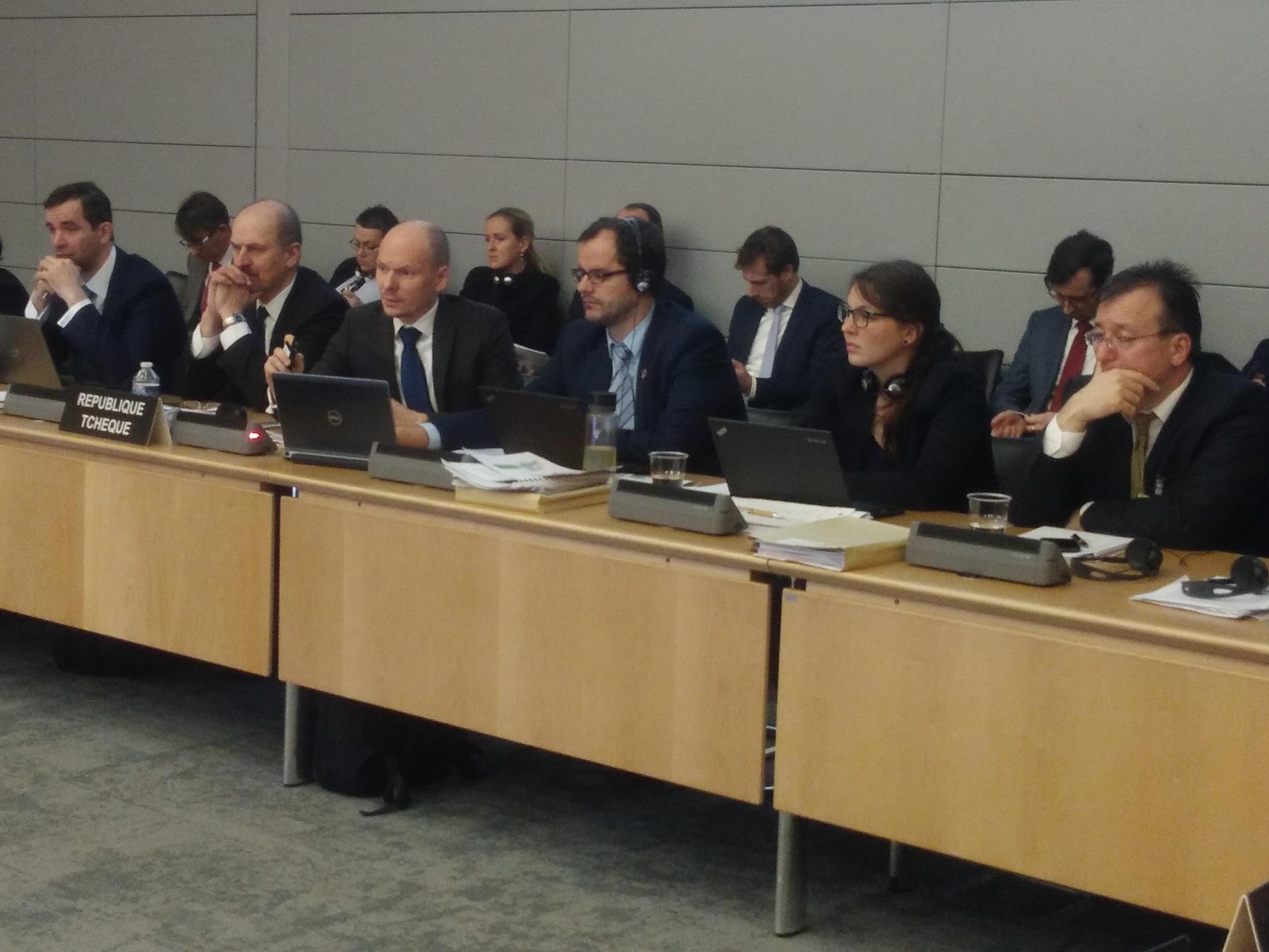 OECD hodnotila životní prostředí ČR. Vystoupení české delegace na oponentním jednání v Paříži bylo úspěšné