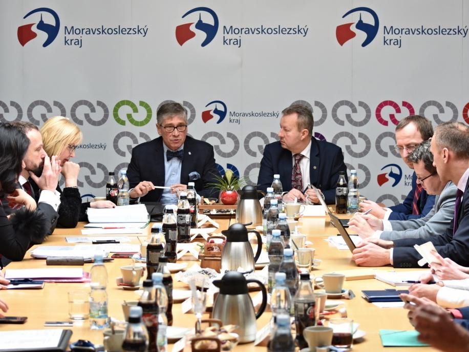 """Brabec v MSK: Na zlepšení ovzduší v kraji poskytneme další miliardu korun, """"kotlíkovné"""" bude i na půjčku"""