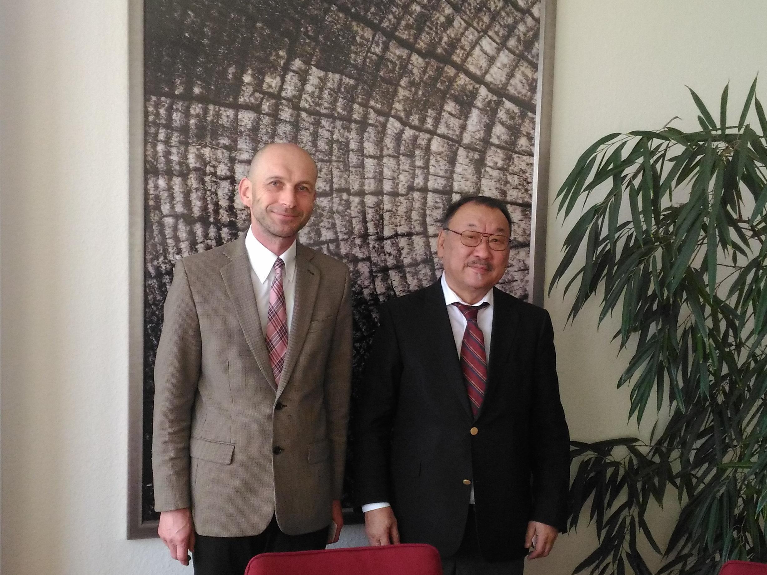 Setkání s mongolskou delegací