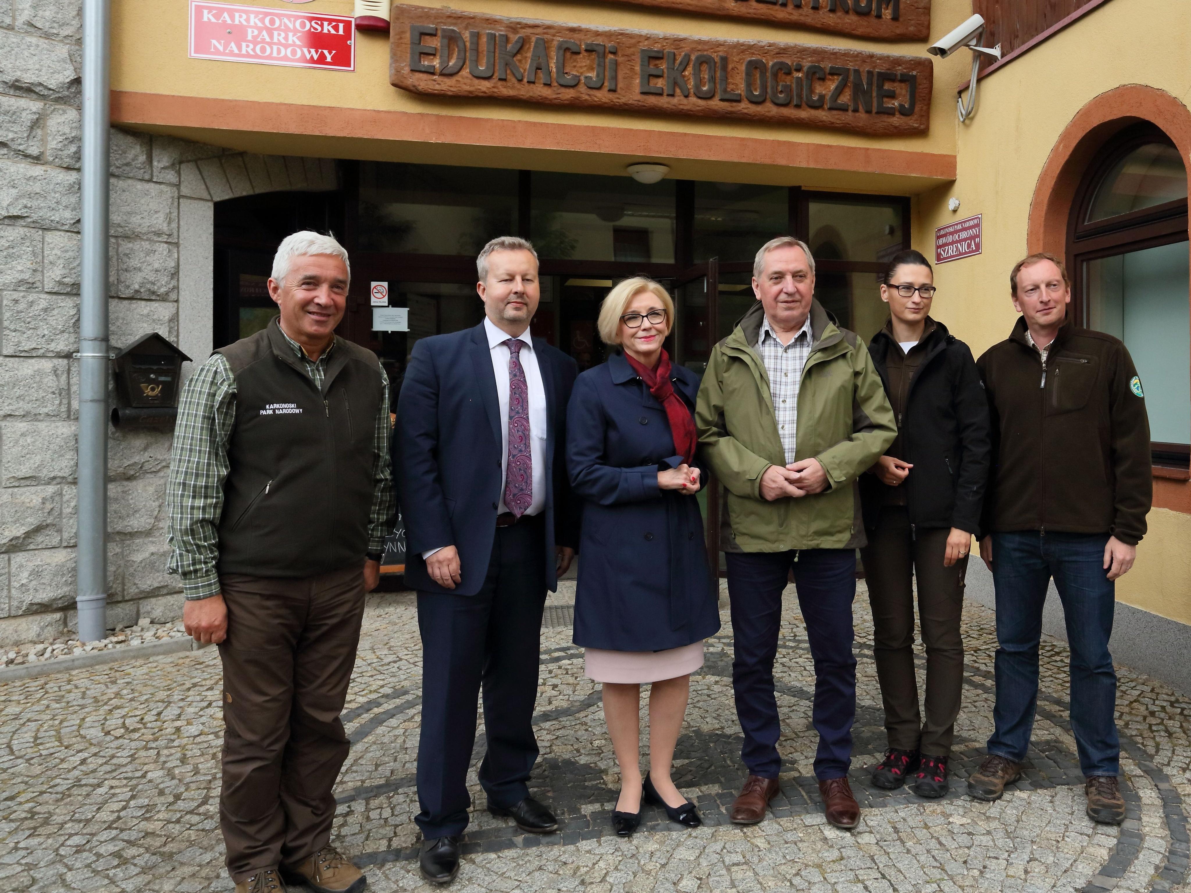 Ministři životního prostředí ČR a Polska se sešli v Krkonoších