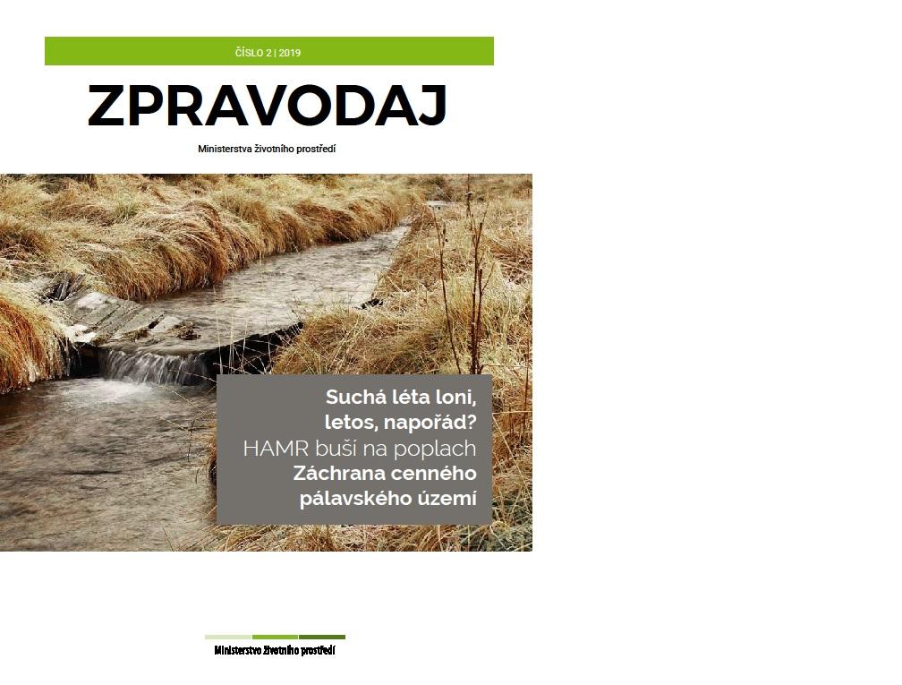 Letní čtení: Nové číslo Zpravodaje MŽP se věnuje suchu