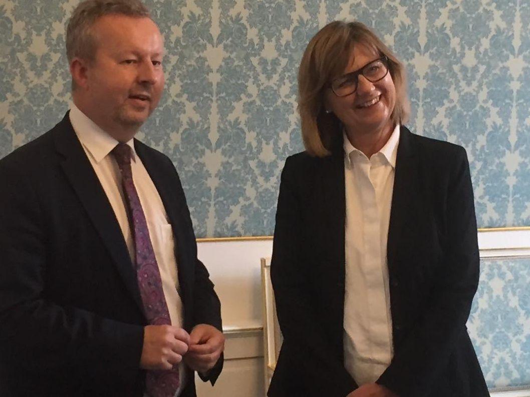 Ministr Brabec jednal s rakouskou ministryní