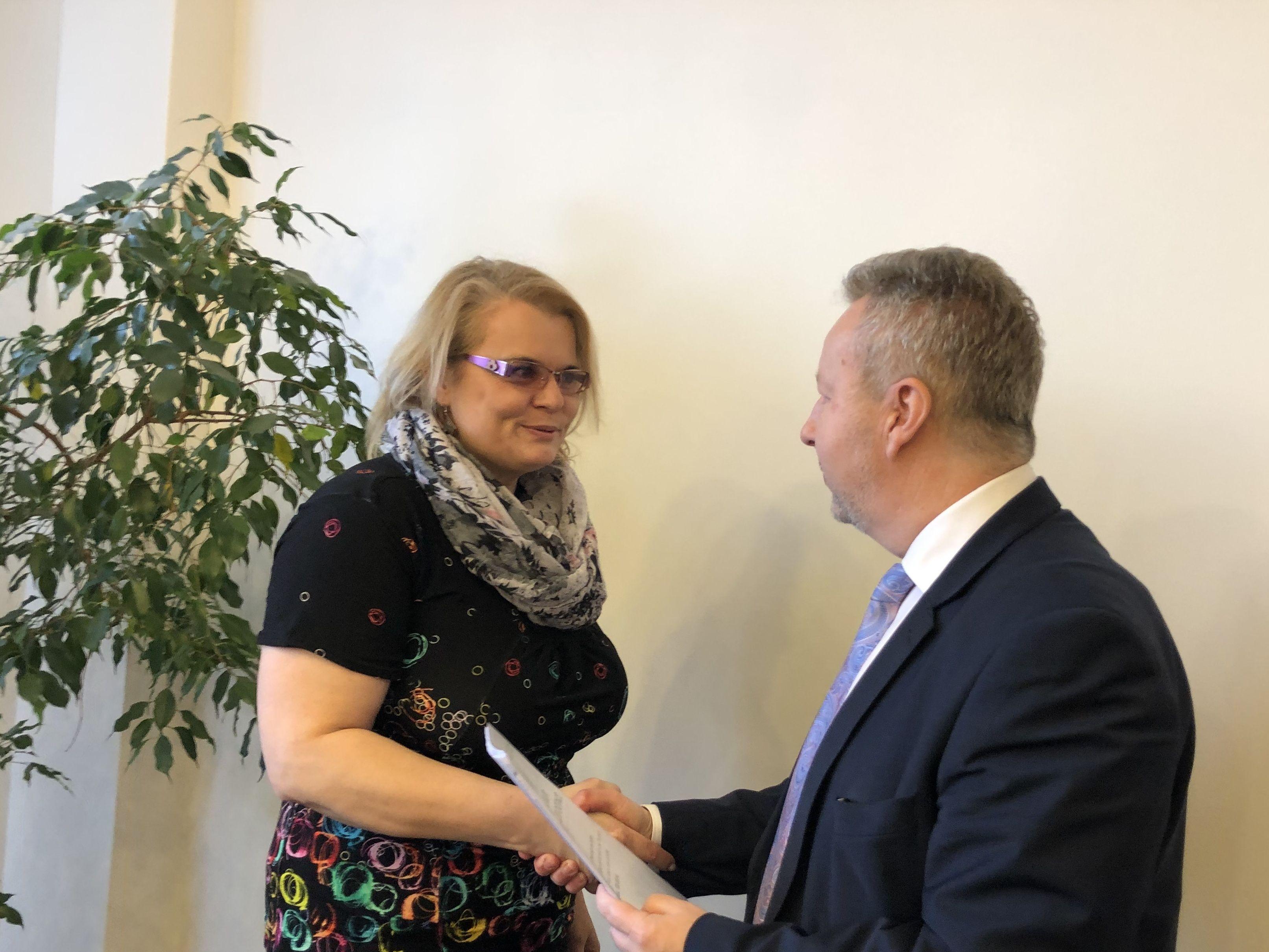 Ústečtí starostové dostali od ministra Brabce dotace na kotlíkové půjčky