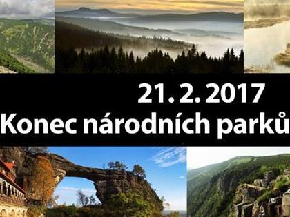 21. února 2017 - Konec národních parků v Česku?