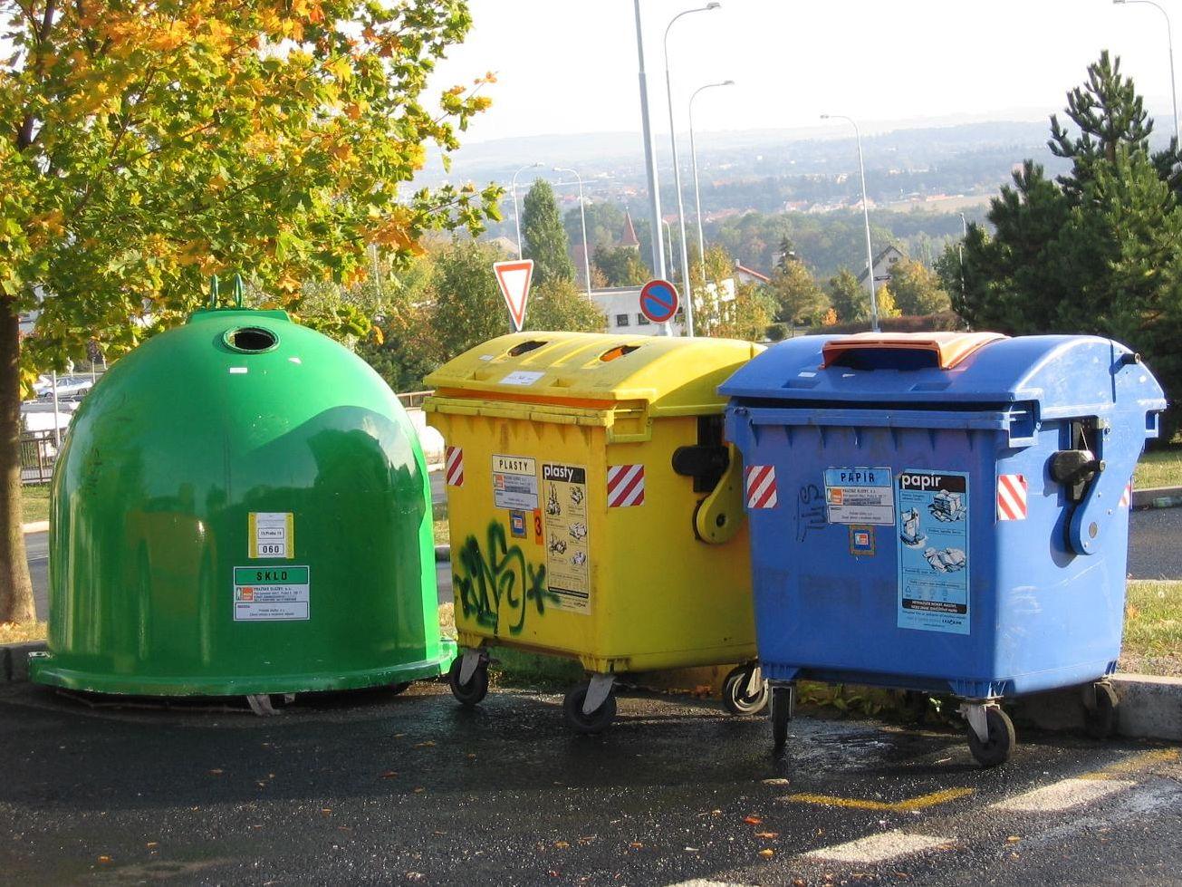 Na třídění a recyklaci odpadu půjde 600 milionů korun z OPŽP