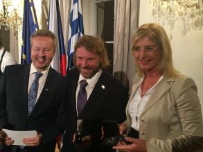 Ředitel Správy NP Šumava Pavel Hubený obdržel významné bavorské ocenění