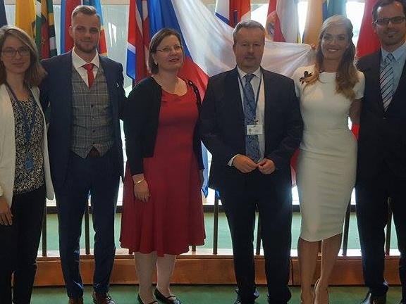 Česká republika se v OSN představila jako země se skvělou budoucností