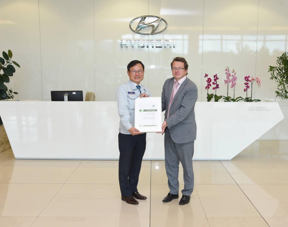 Společnost Hyundai obhájila certifikát o ochraně životního prostředí EMAS