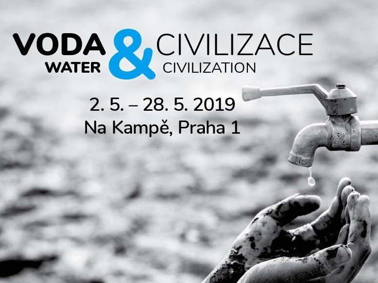 Klíčový význam vody představí výstava Voda a civilizace na pražské Kampě