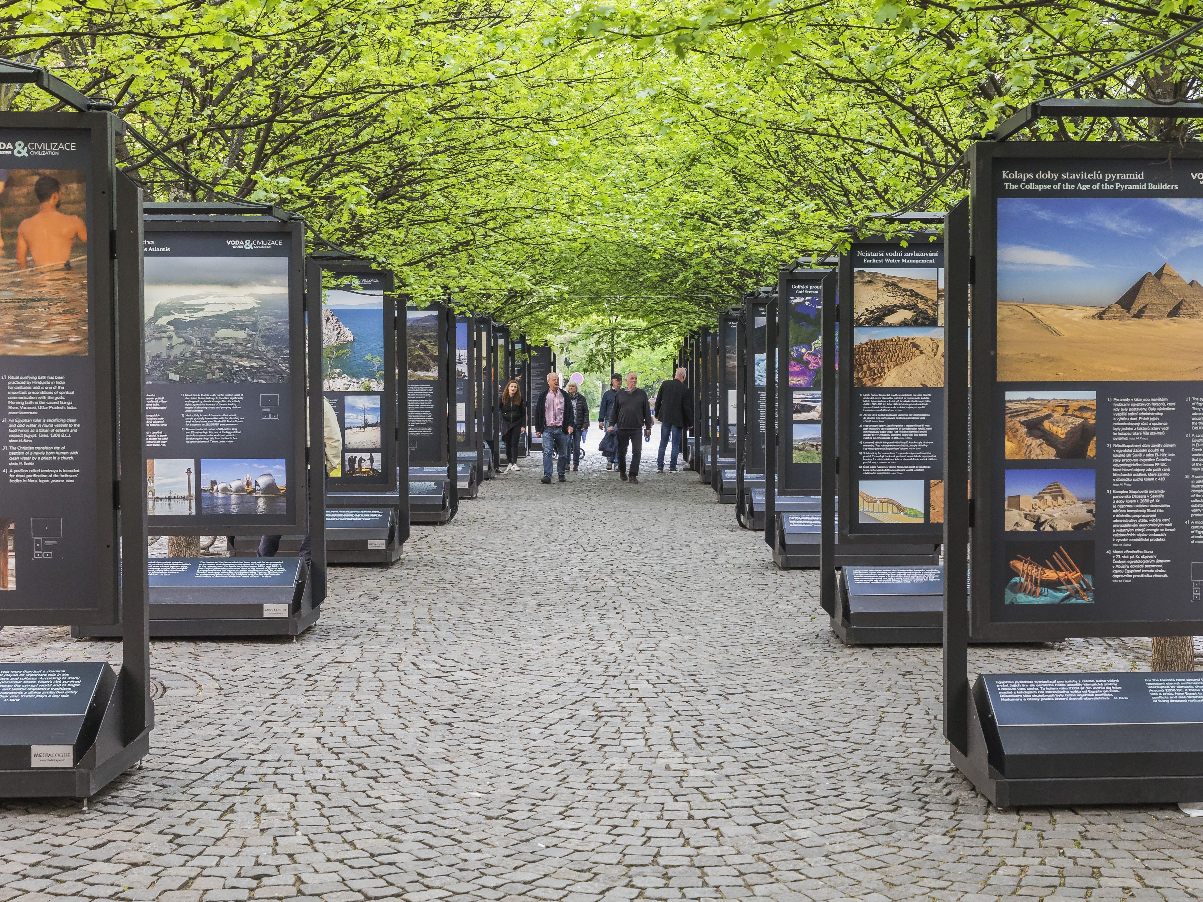 Výstava Voda a civilizace je ode dneška přístupná na pražské Kampě