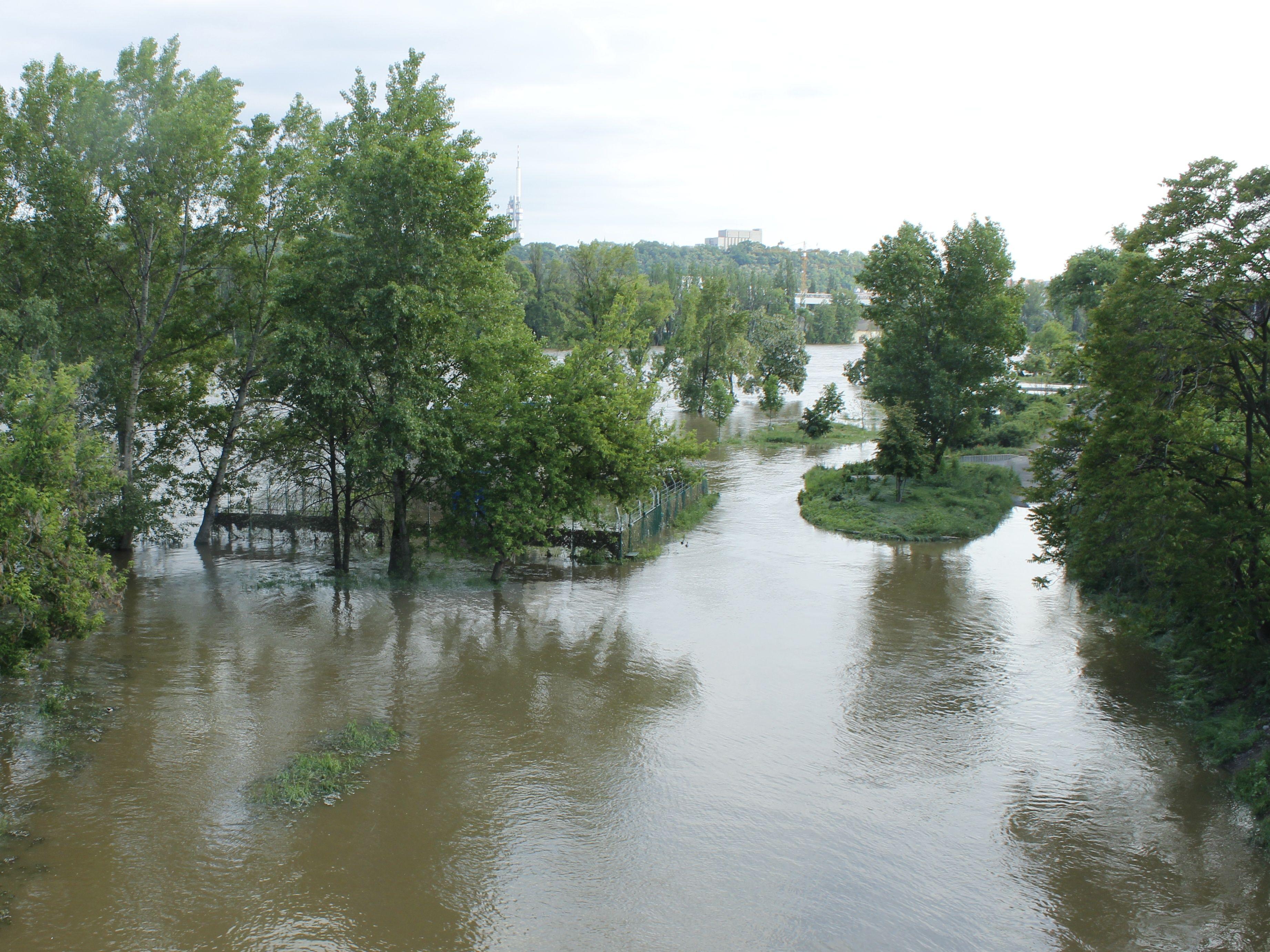 MŽP zveřejnilo aktualizované mapy povodňového nebezpečí a povodňových rizik