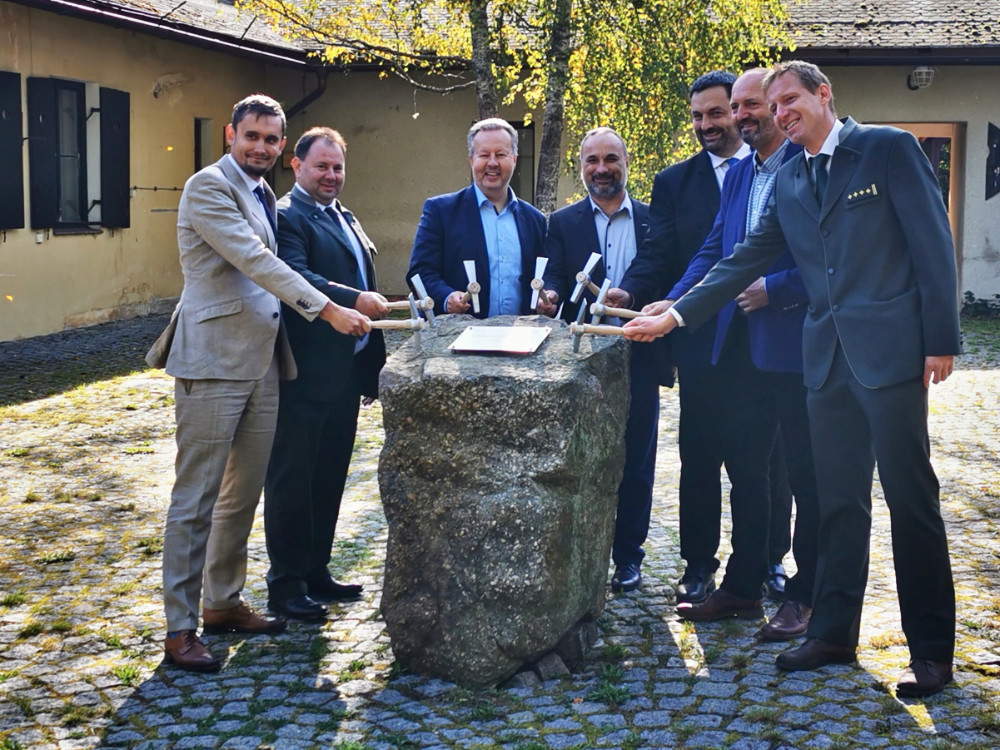Vojenské lesy zahájily stavbu Domu přírody v Brdech