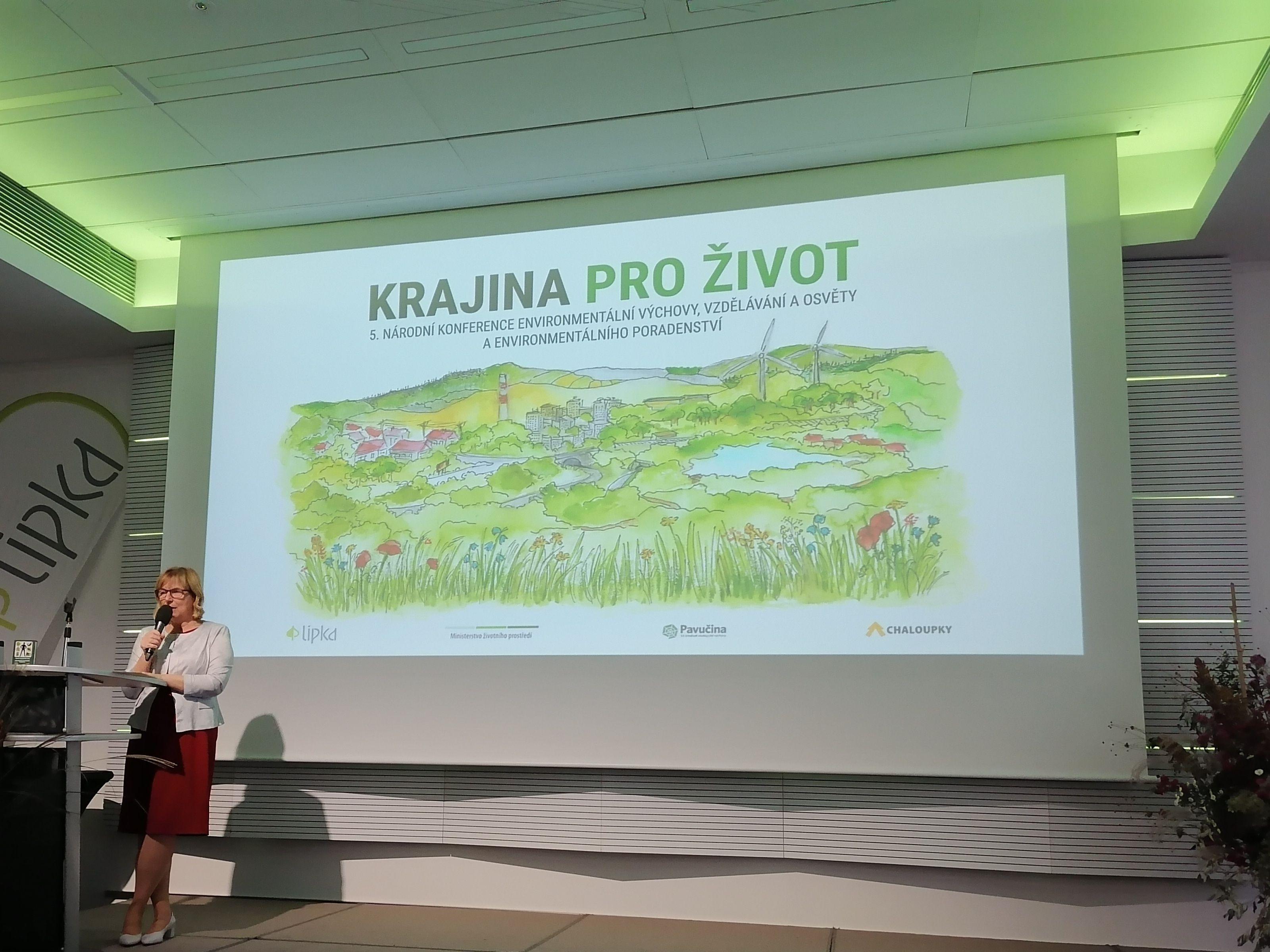 Krajina budoucnosti: Jak má vypadat a jak o ní vzdělávat je tématem 5. Národní konference EVVO