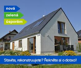 Nová zelená úsporám - Baner