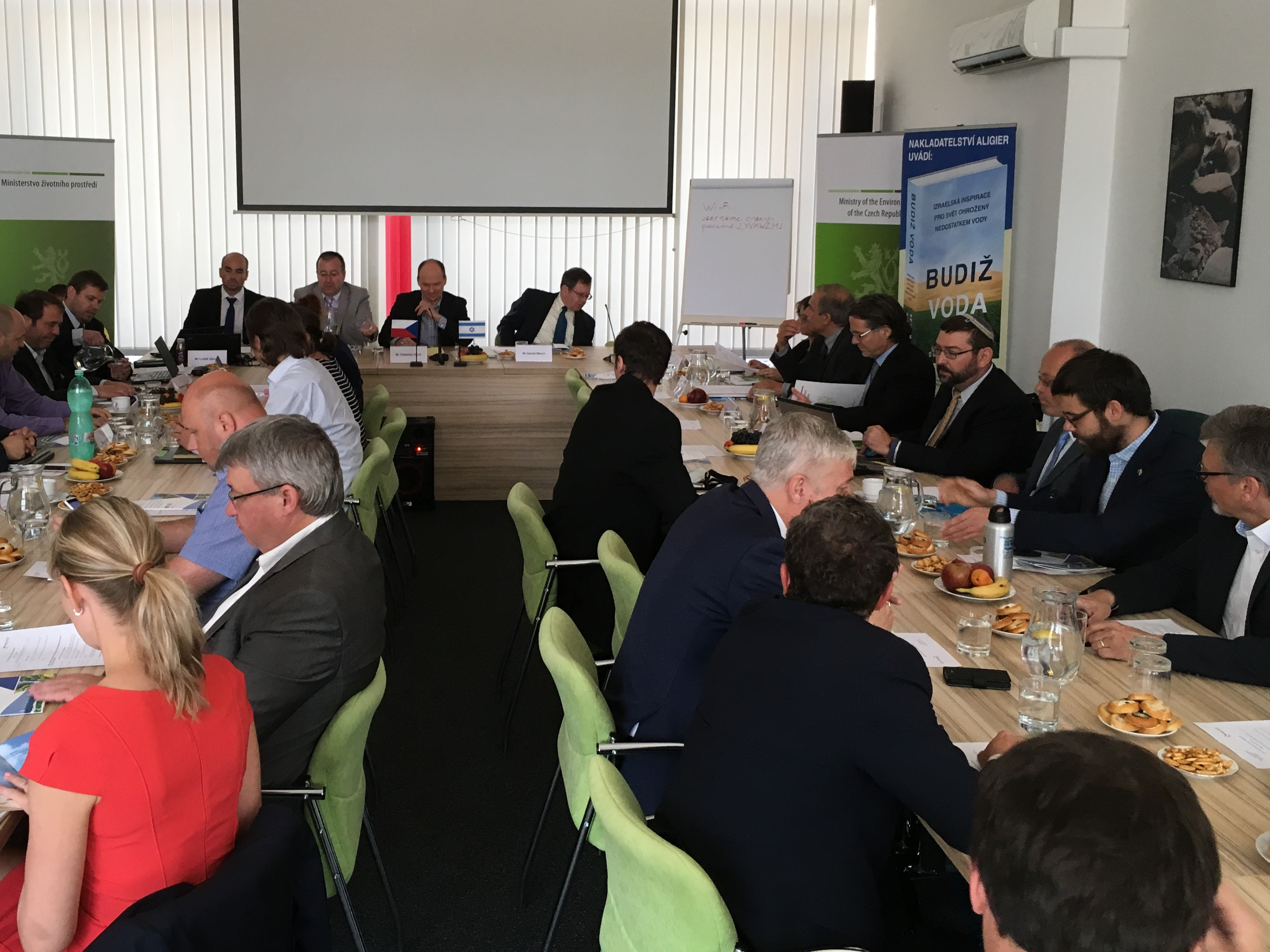 "From the Czech – Israeli Seminar on Water Management: ""Israel is pleased to cooperate with the Czech Republic in the field of environment and water management."