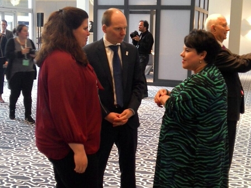 EU environment ministers met in Amsterdam to discuss reducing transport emissions