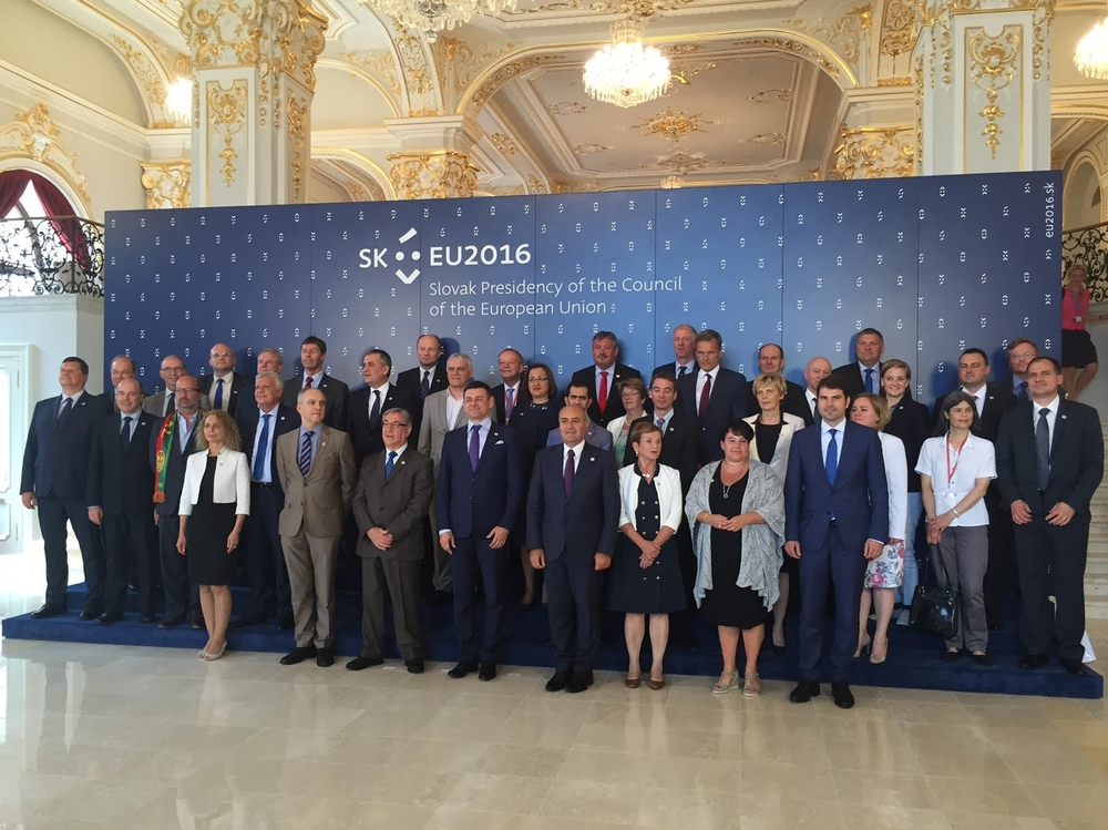 In Bratislava, environment ministers discussed water management, climate protection and its sustainable financing