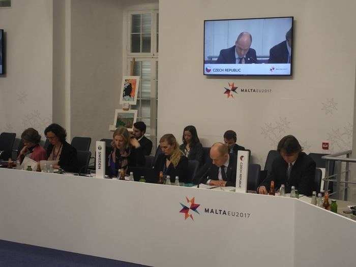 EU Environment Ministers discussed the adaptation to climate change, pollution of the oceans and the circular economy at a meeting in Malta