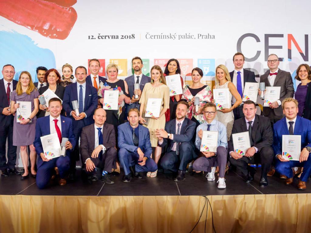 Vítězové Cen SDGs 2018
